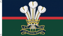 ROYAL WELSH REGIMENT- 5 X 3 FLAG